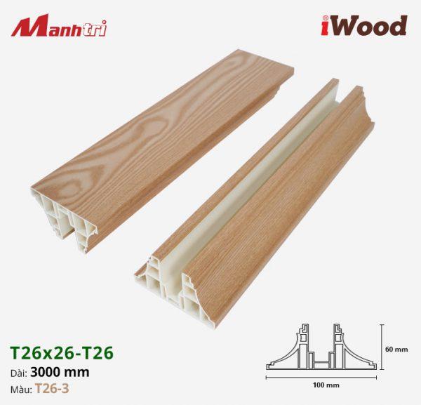 iWood T26-3 hình 1