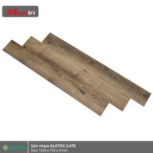 sàn nhựa Glotex 4mm s478 hình 2