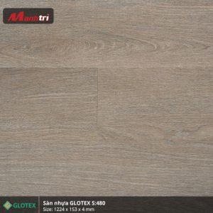 sàn nhựa Glotex 4mm s480 hình 1