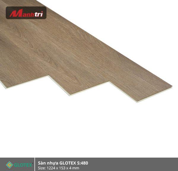 sàn nhựa Glotex 4mm s480 hình 2