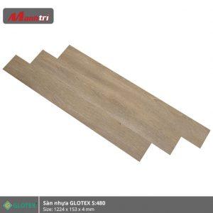 sàn nhựa Glotex 4mm s480 hình 3