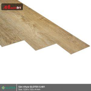 sàn nhựa Glotex 4mm s481 hình 2