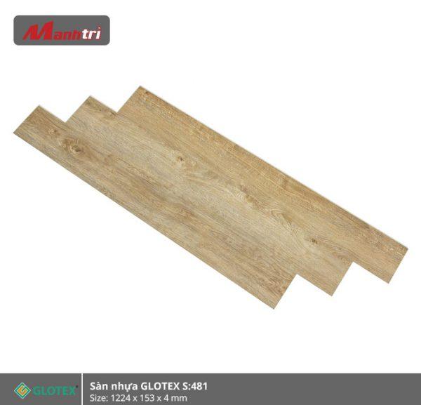 sàn nhựa Glotex 4mm s481 hình 3