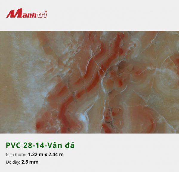 Tấm nhựa PVC 28-14-vân đá