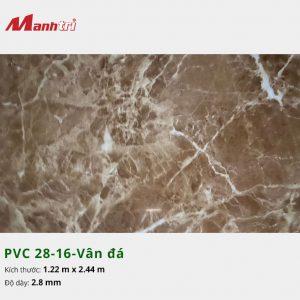 Tấm nhựa PVC 28-16-vân đá