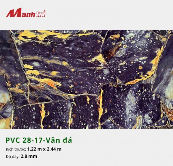 Tấm nhựa PVC 28-17-vân đá