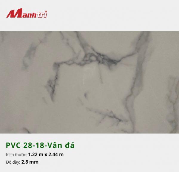 Tấm nhựa PVC 28-18-vân đá