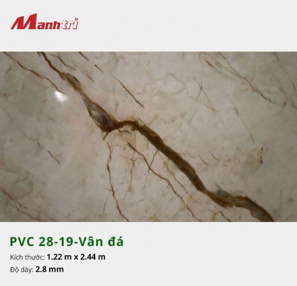 Tấm nhựa PVC 28-19-vân đá