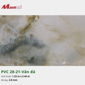 Tấm nhựa PVC 28-21-vân đá