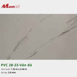 Tấm nhựa PVC 28-23-vân đá