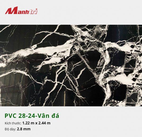 Tấm nhựa PVC 28-24-vân đá