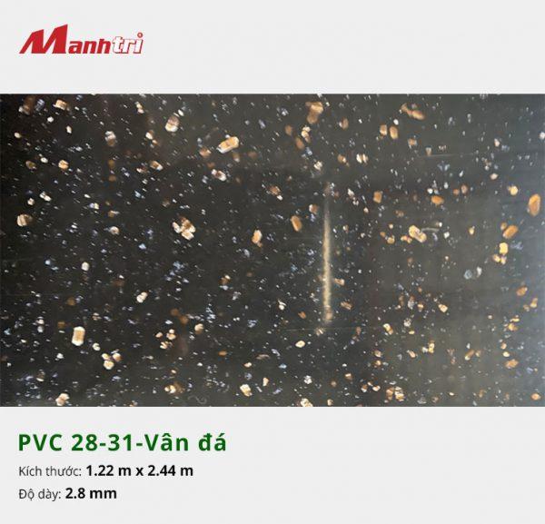 Tấm nhựa PVC 28-31-vân đá