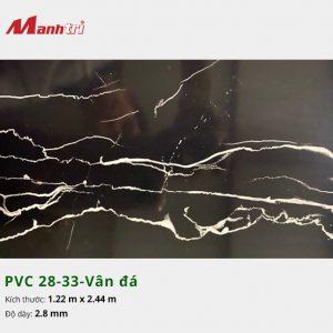 Tấm nhựa PVC 28-33-vân đá