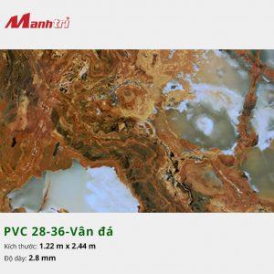 Tấm nhựa PVC 28-36-vân đá
