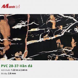 Tấm nhựa PVC 28-37-vân đá
