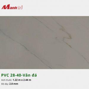 Tấm nhựa PVC 28-40-vân đá