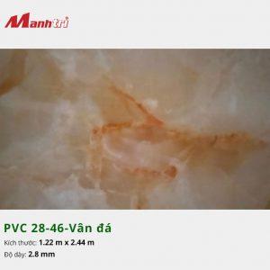 Tấm nhựa PVC 28-46-vân đá