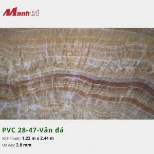Tấm nhựa PVC 28-47-vân đá