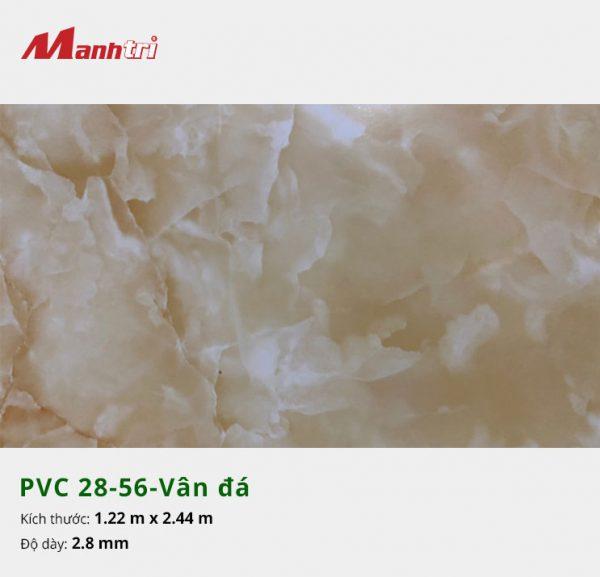 Tấm nhựa PVC 28-56-vân đá