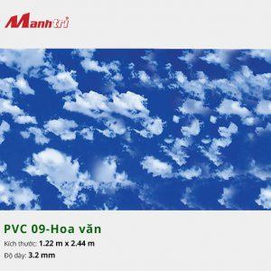 tấm ốp tường hoa văn PVC 09