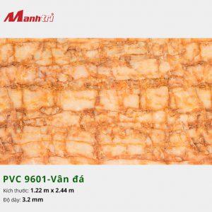 tấm ốp tường vân đá PVC 9601