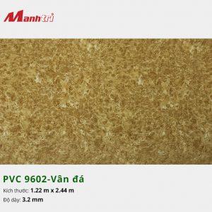 tấm ốp tường vân đá PVC 9602