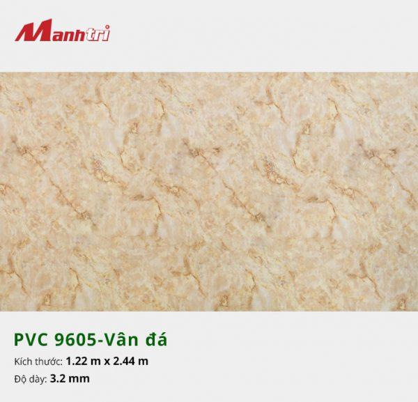 tấm ốp tường vân đá PVC 9605