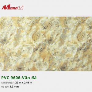 tấm ốp tường vân đá PVC 9606