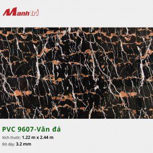 tấm ốp tường vân đá PVC 9607