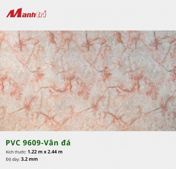 tấm ốp tường vân đá PVC 9609