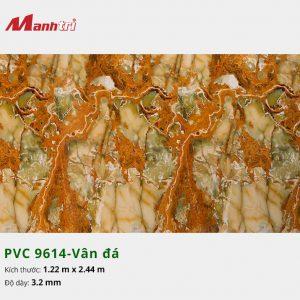 tấm ốp tường vân đá PVC 9614