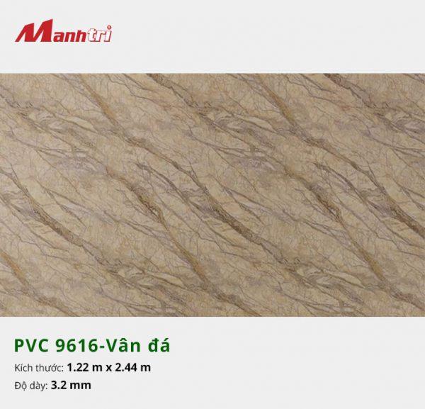 tấm ốp tường vân đá PVC 9616