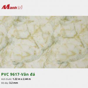tấm ốp tường vân đá PVC 9617