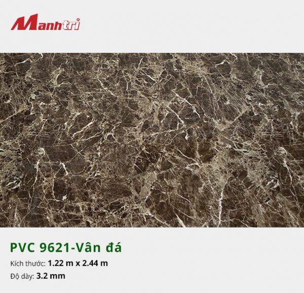 tấm ốp tường vân đá PVC 9621