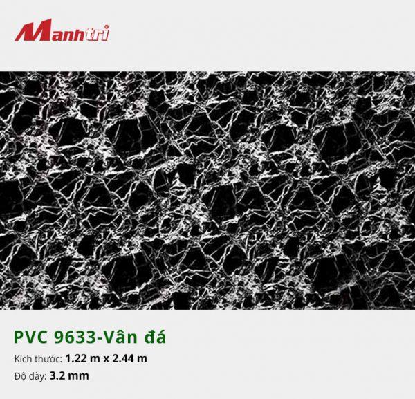 tấm ốp tường vân đá PVC 9633