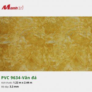 tấm ốp tường vân đá PVC 9634