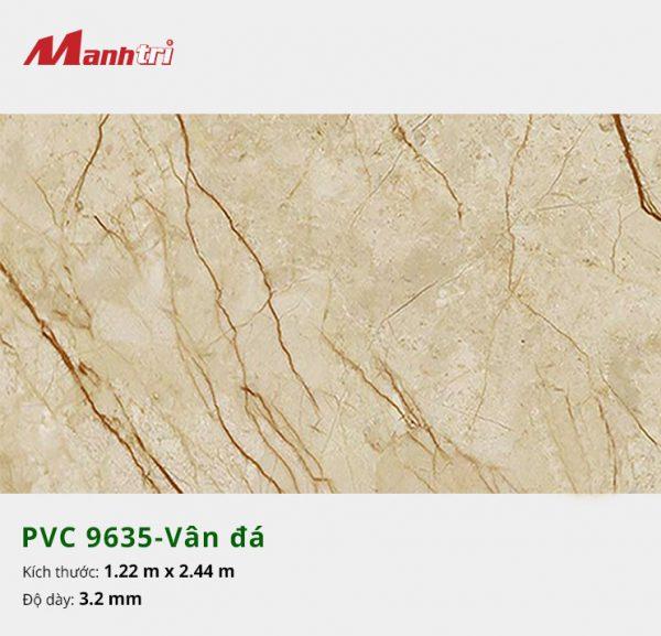 tấm ốp tường vân đá PVC 9635