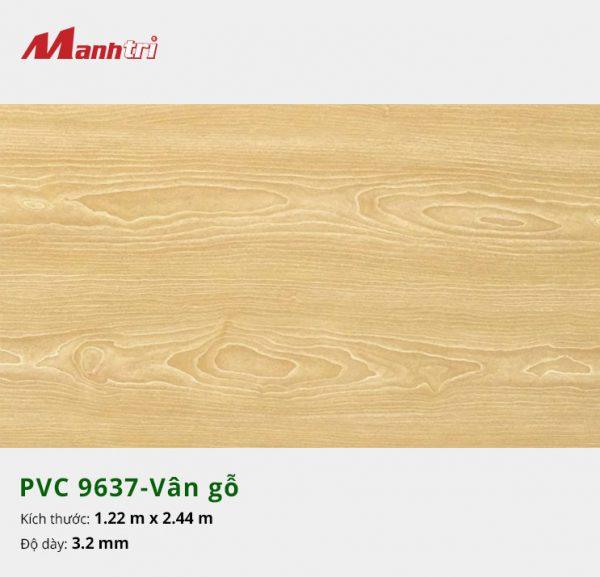 tấm ốp tường vân gỗ PVC 9637