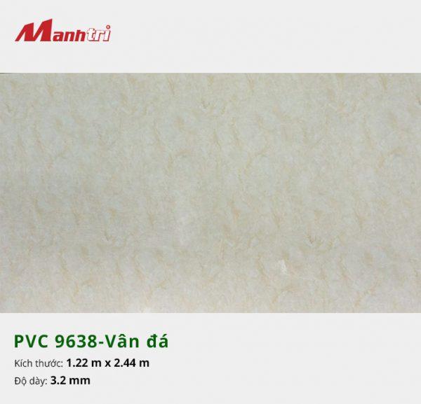 tấm ốp tường vân đá PVC 9638