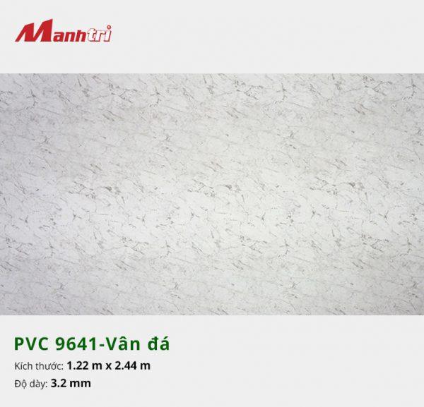 tấm ốp tường vân đá PVC 9641
