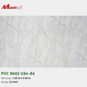 tấm ốp tường vân đá PVC 9642