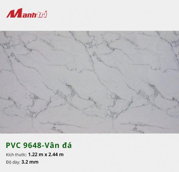 tấm ốp tường vân đá PVC 9648