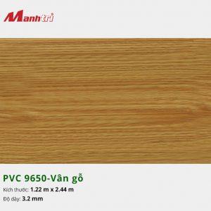 tấm ốp tường vân gỗ PVC 9650