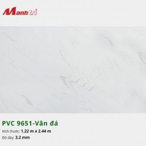 tấm ốp tường vân đá PVC 9651