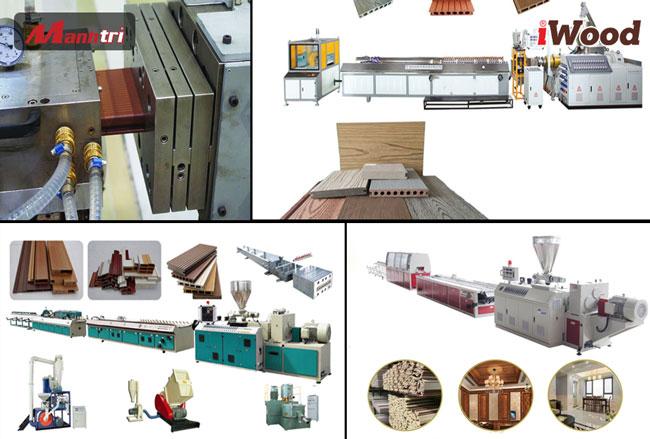 dây chuyền sản xuất gỗ nhựa composite iwood
