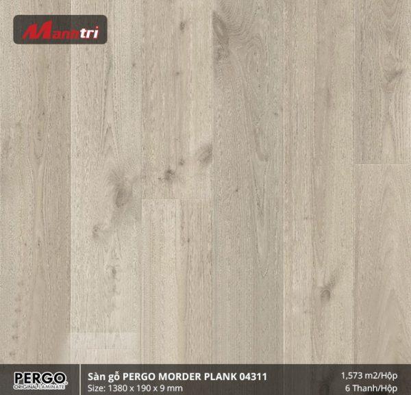 sàn gỗ Pergo morderplank 04311 hình 1