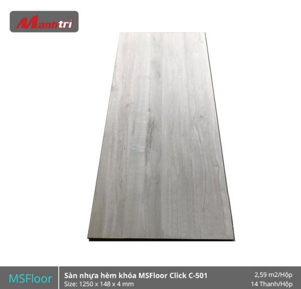 Sàn nhựa MSFloor C501 hình 1