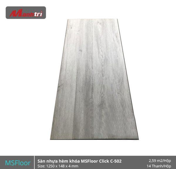 Sàn nhựa MSFloor C502 hình 1