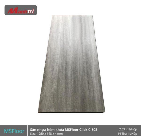 Sàn nhựa MSFloor C503 hình 1