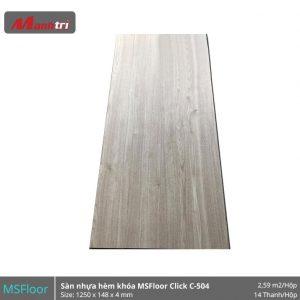 Sàn nhựa MSFloor C504 hình 1